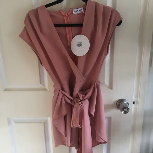 Brand New With Tag Blush Pink Playsuit