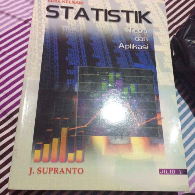 Buku Statistik Teori Dan Aplikasi