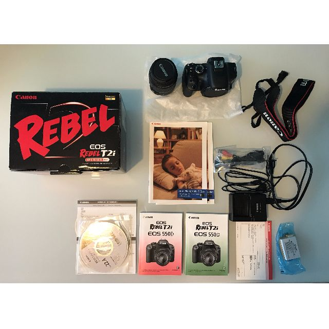 Canon EOS Rebel T2i DSLR Camera - Complete with 18-55 mm Lens