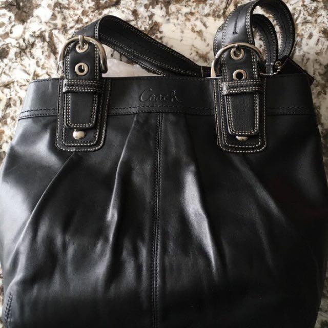 Coach black Tote Bag