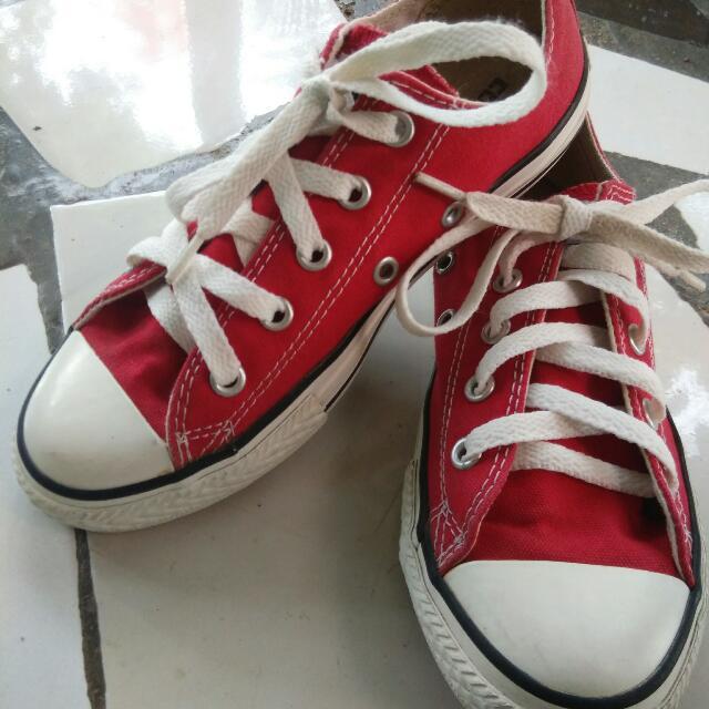 Converse All Star (Merah) Size 1