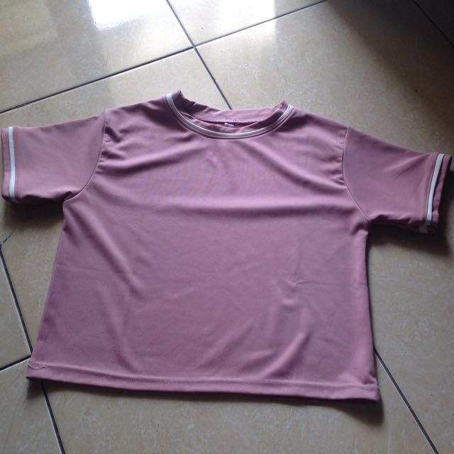 Crop Dusty Pink
