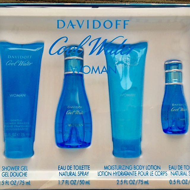 Davidoff Women Cool  Water Set
