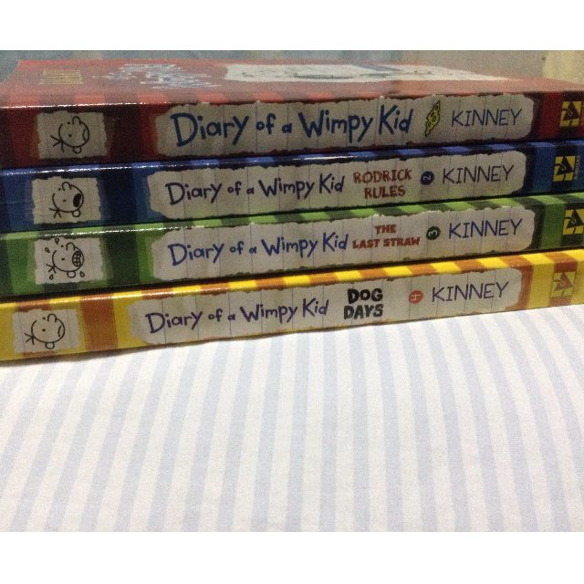 Diary of a Wimpy (set of 4)