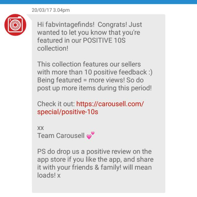 Featured! Thank You, Carousell! 😘😍👍