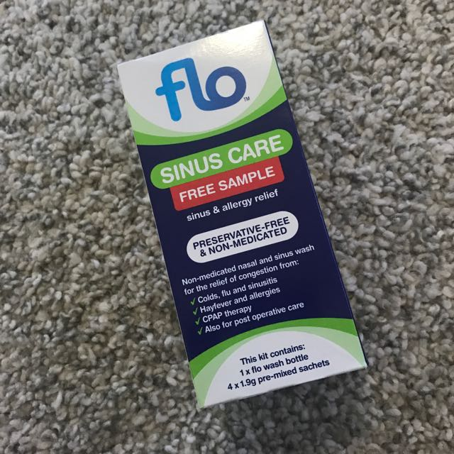 flo sinus sample