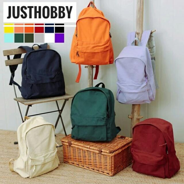[FREE POSTAGE] Canvas Simplicity Backpack