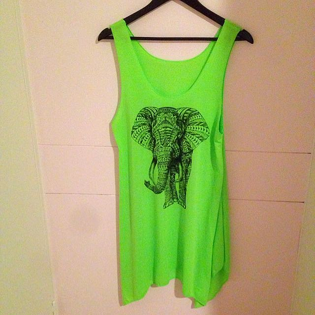 Free Size New Green long Vest