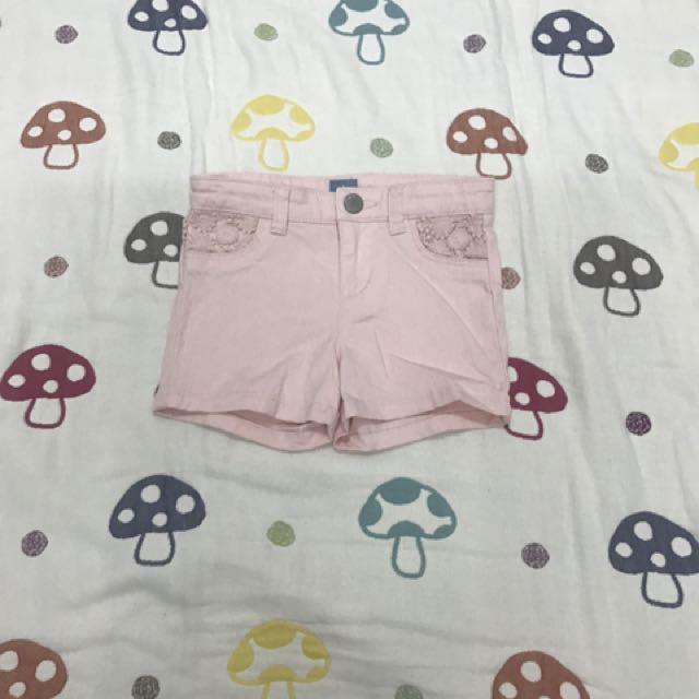 Gap 粉色短褲