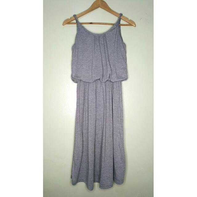 REPRICED!!! Grey Summer Dress