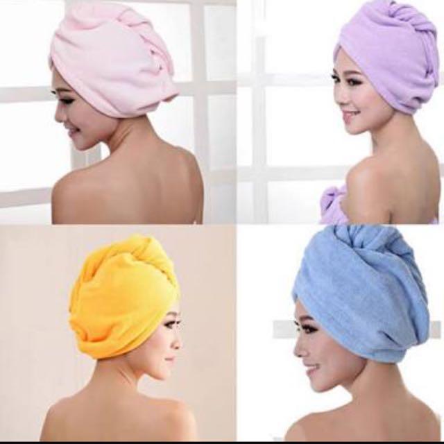 Hair Drying Wraps