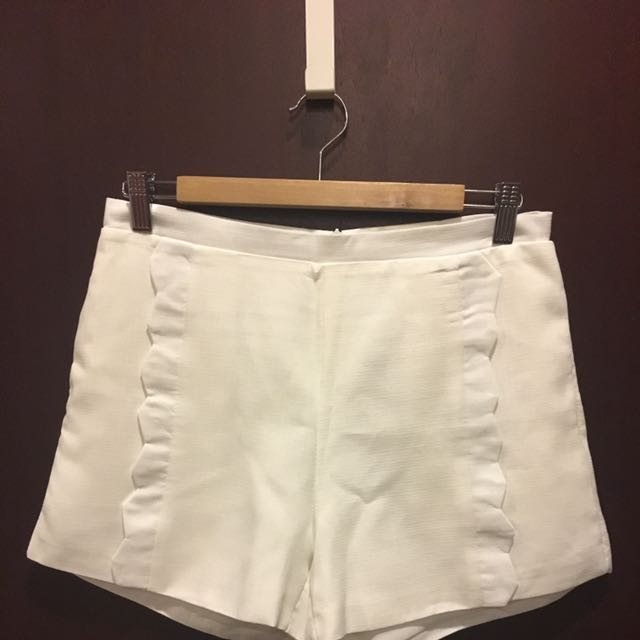 Brand New High Waisted Off-White Shorts