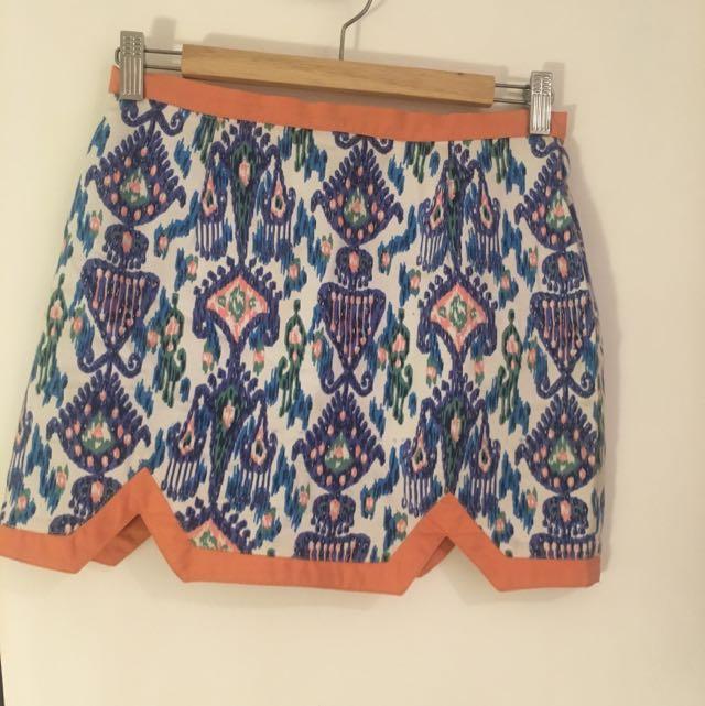 Indikah Print Skirt
