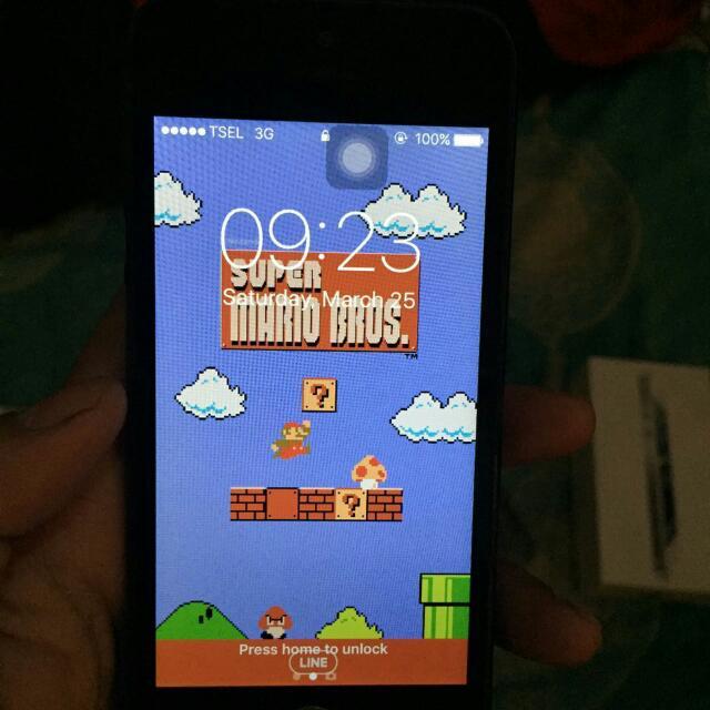 NEGO!! Iphone 5 16GB mulus 95%
