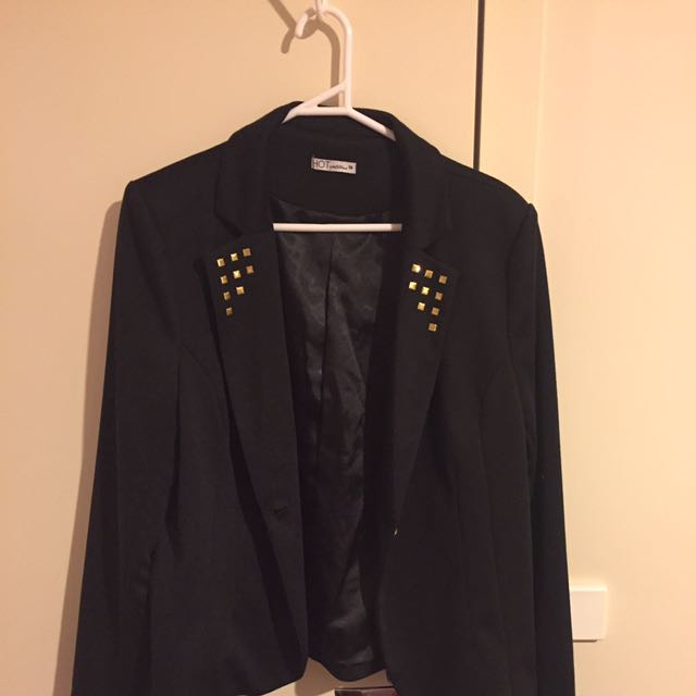 Ladies Black Professional Blazer