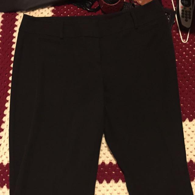 Ladies Professional Black Pants