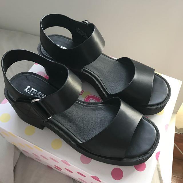 Lipstik Platform Sandals/Heels