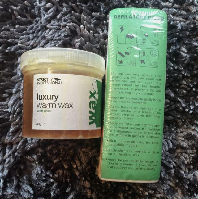 Luxury Warm Wax