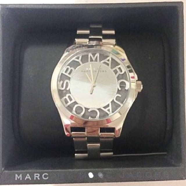 Marc Jacobs Henry Skeleton watch