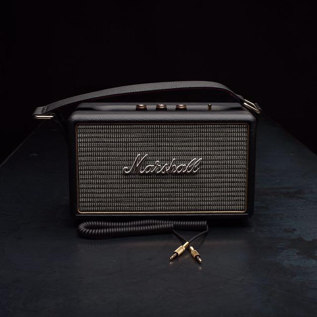 Marshall Kilburn 黑金經典款 攜帶型主動式喇叭 藍芽喇叭 $$10,500(免運)