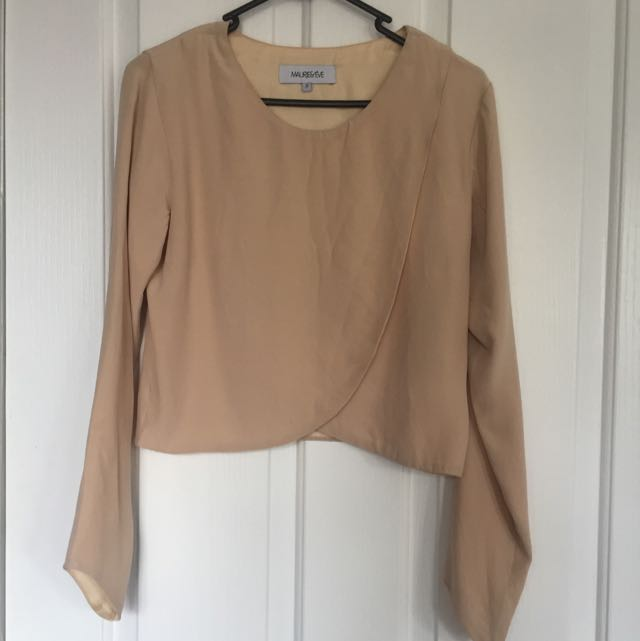 Maurice & Eve Size 8 Silk Top