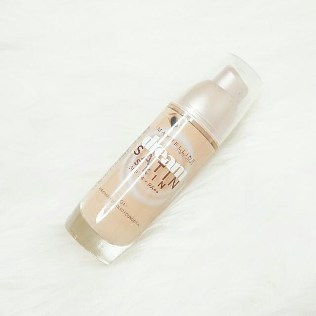 Maybelline Dream Satin Skin Foundation no 1