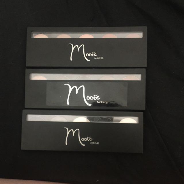 Mooie Makeup Eyeshadow Palletes