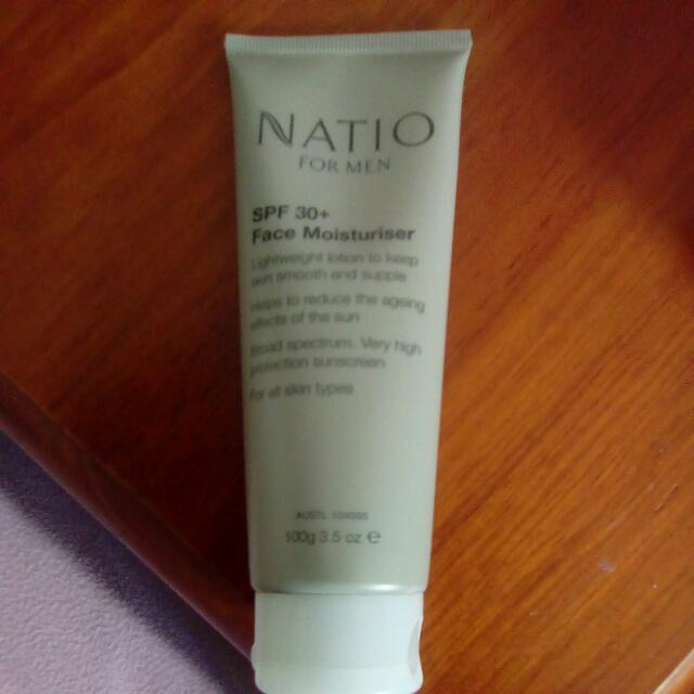 Natio For Men SPF 30 Moisturiser