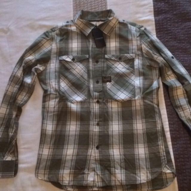 New Gstar Dress Shirt
