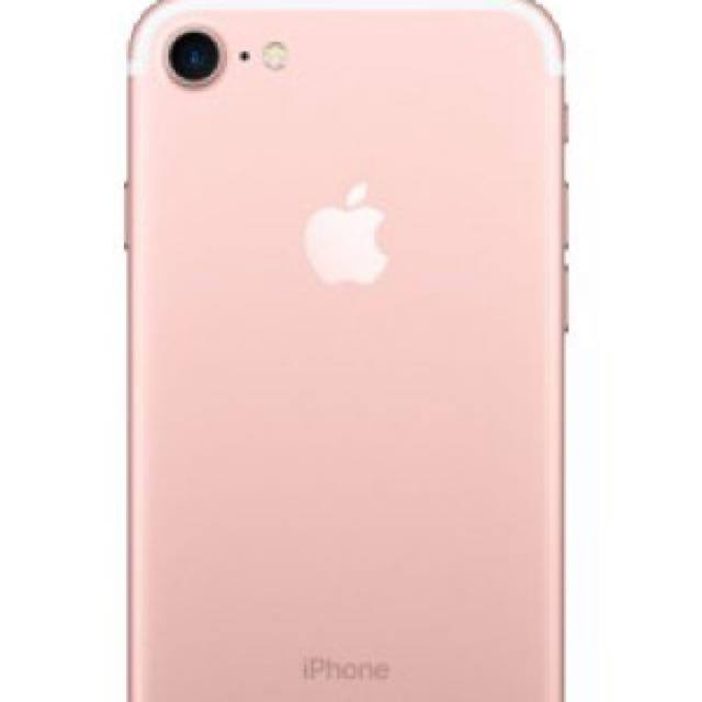 New iPhone 7 Rose Gold Under Warranty 1 Year