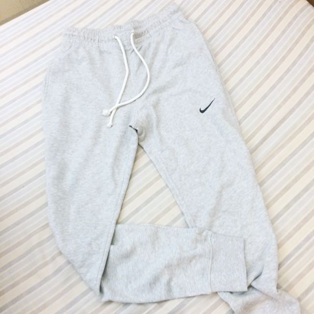降價‼️ Nike 灰色 縮口 運動休閒褲
