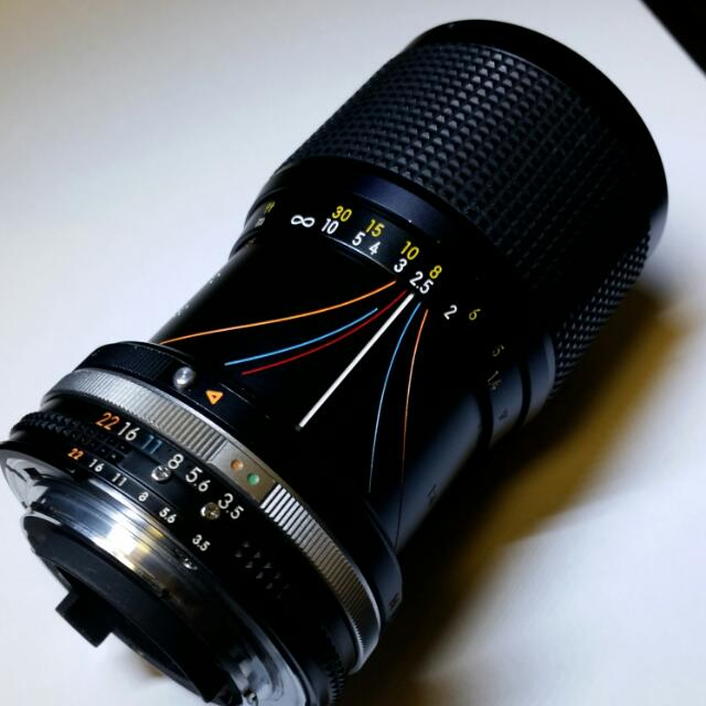 Nikon 35-105mm Vintage Manual Zoom Lens
