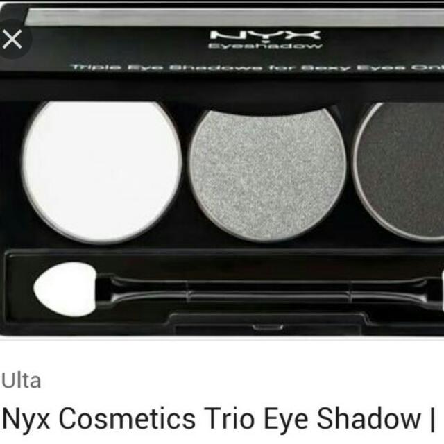 Nyx Eye Trio Smoky