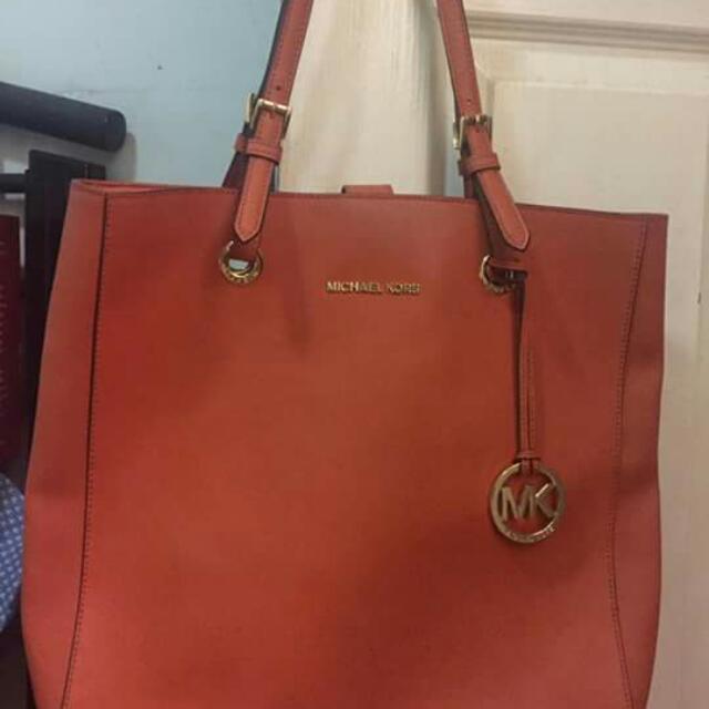Original Mk Leather Bag.