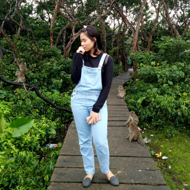 Overall Jeans Light