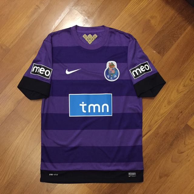 06b791cf5 Authentic FC Porto Jersey Size S 2012 13 ( Nike Portuguese League Primeira  Liga Portugal Tmn Meo Super Bock Small Purple Strips Football Club Soccer  United ...