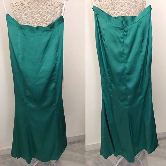 Preloved Satin Mermaid Skirt
