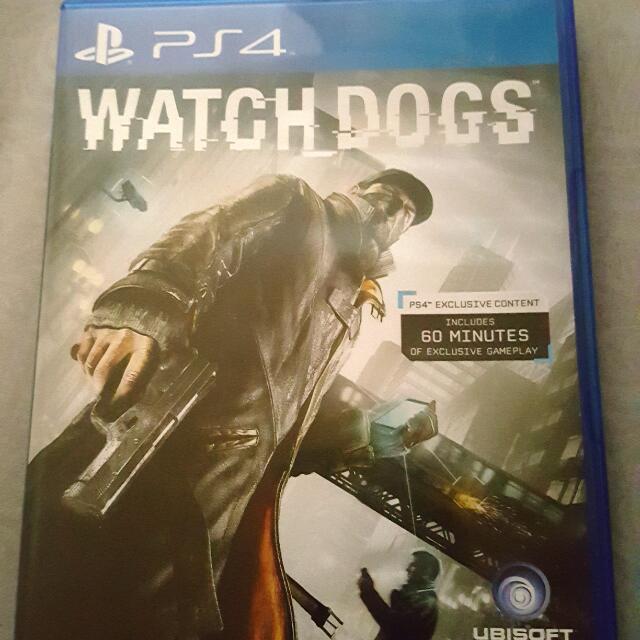 PS4看門狗英文版本,含運