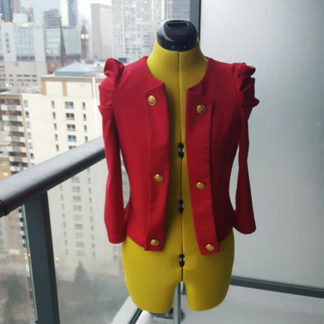 Red Seductions Light Jacket