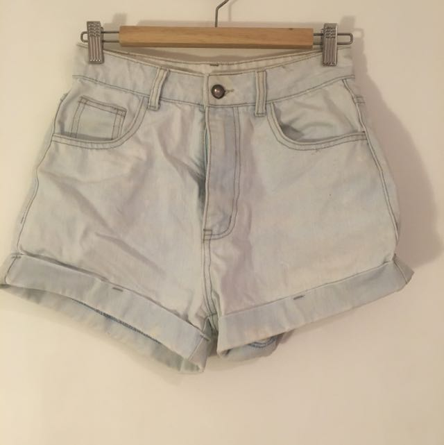 Refuge Denim High Waist Shorts