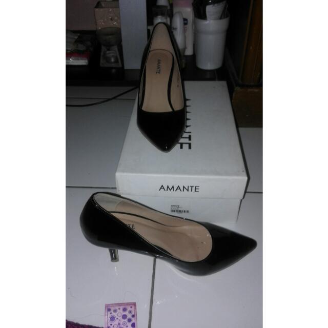 Sepatu Merk Amante Wrn Hitam Size 36