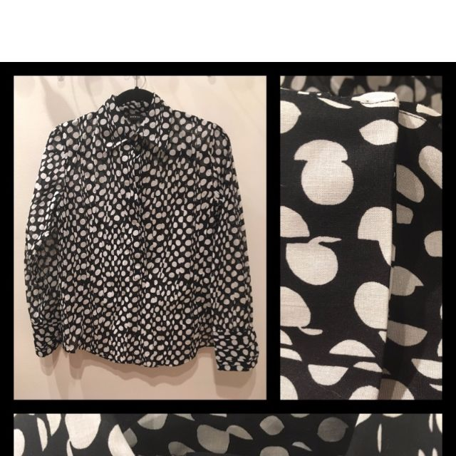 Size 10 - AKRIS - Cotton Blouse