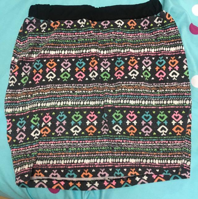 Small Aztec Skirt