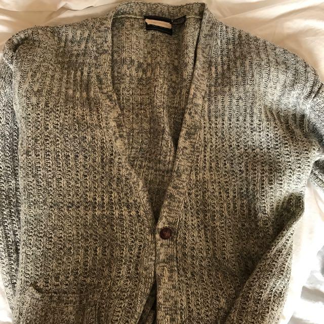 Speckled Grey Cardigan
