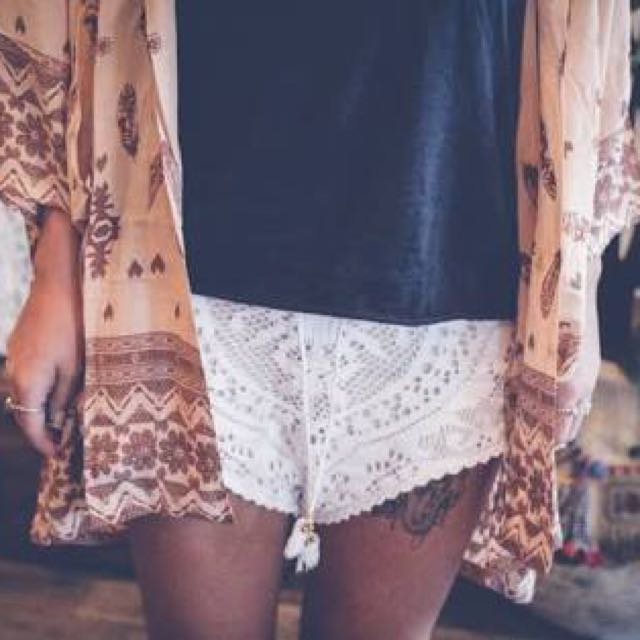 Spell Designs Fleetwood Lace Shorts