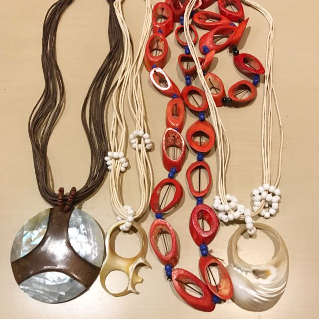 Take ALL-Assorted Shell Necklace
