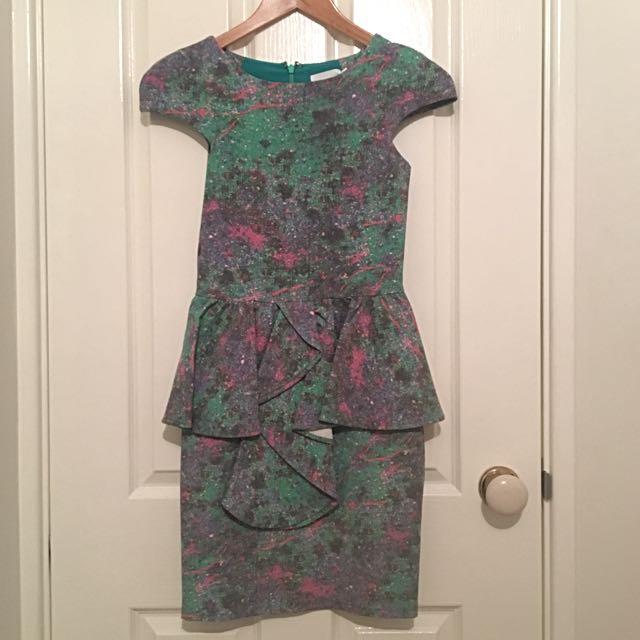 Talulah Peplum Dress
