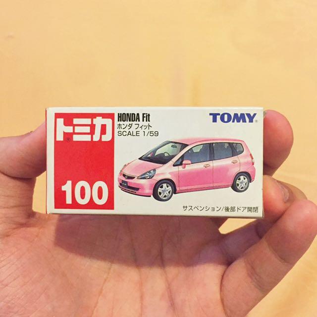 Tomica Honda Fit Pink