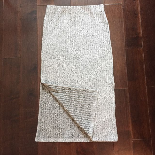 Topshop Skirt With High Slits On The Side