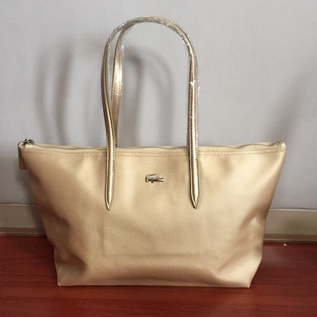 Totebag Lacoste Gold